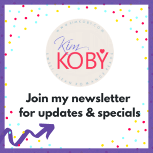 join my newsletter, clean romance